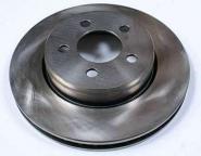 2 Bremsscheiben + Satz Bremsklötze Chrysler 300C Bj. 04-10 Hinten