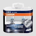 Osram Night Breaker Unlimited HB3 9005 Duobox